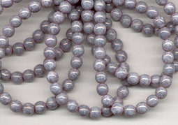 Round beads 6 mm luster