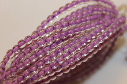 Round beads 4 mm colour holes