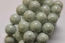 Round beads 12 mm luster