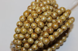 Round beads 8 mm luster