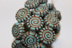 Spiral 16 mm matte/old patina